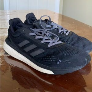 Black adidas sneakers for men